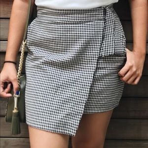 F21 Patterned Skirt with POCKETS